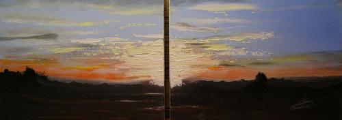 Tweeluik-sunset